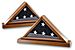 Triangle Flag Case with Glass Front SF10